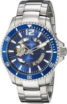 Stuhrling Original Men's 772.02 Aquadiver Regatta Makran Automatic Self Wind Dial Stainless Steel Bracelet Watch