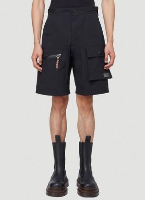 Burberry Logo Applique Cargo Shorts
