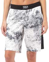 Reebok Womens The Noble Fight Speedwick Boxing Shorts Chalk