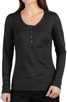 Exofficio Wanderlux Henley Shirt - Long Sleeve (For Women)