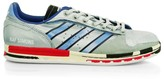 Adidas By Raf Simons Micro Stan Smith Printed Leather Sneakers