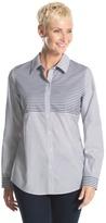 Chico's Caroline Striped Shirt