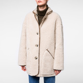 Paul Smith Women's Faux Shearling-Sheepskin Reversible Coat