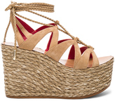 Pura Lopez Lace Up Wedge