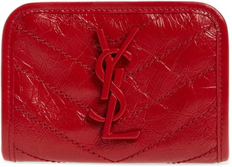 Saint Laurent Niki Quilted Leather Wallet