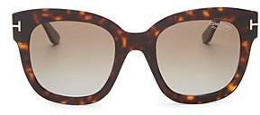 Tom Ford Women's Beatrix Polarized Square Sunglasses, 52mm