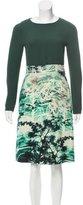 Brioni Wool & Silk Dress