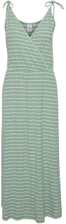 Ichi Green Stripe Jersey Dress - S .