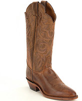 Justin Boots Scalloped Collar Boots