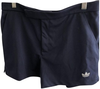adidas Blue Cotton Shorts