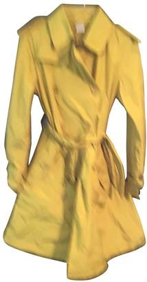 Aspesi Yellow Trench Coat for Women