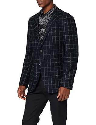 Strellson Premium Men's Ardoc-j Blazer, Grey 019, (Size: )