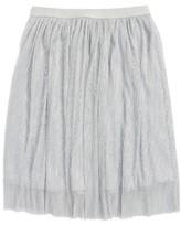 Hip Girl's Metallic Skirt