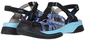 Jambu Eclipse (Black/Sky Blue) Women's Shoes