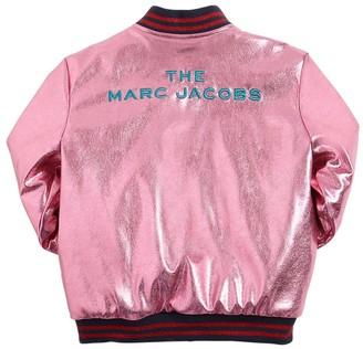 Little Marc Jacobs Reversible Faux Leather & Fur Jacket