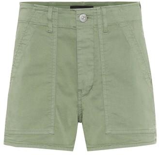 3x1 Simone cotton high-rise shorts