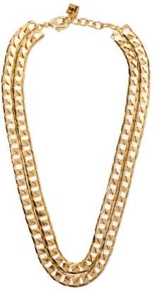 Rosantica Garcon Double-chain Necklace - Gold
