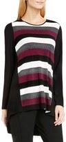 Vince Camuto Women's 'Cargo Stripe' Colorblock High/low Top