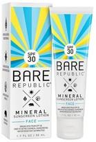 Bare Republic SPF30 Mineral Face Lotion 1.7 oz