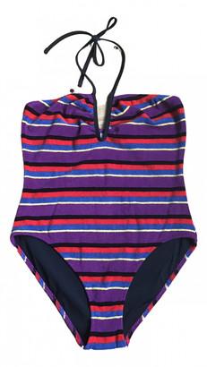 Solid & Striped Multicolour Cotton - elasthane Swimwear