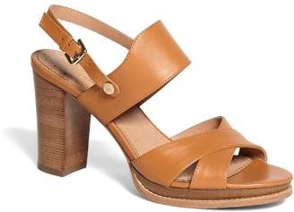 Brooks Brothers Tall Stacked Sandals