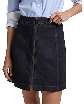 SABA Arlie Denim Mini Skirt