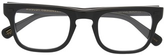 MOSCOT Clear-Lens Wayfarer Glasses