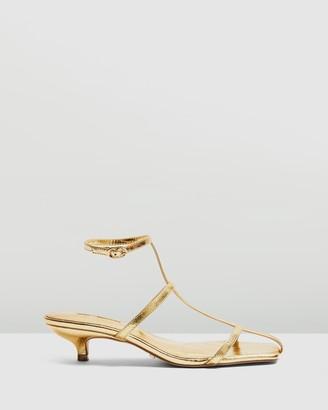 Topshop Nika Cage Mini Heels