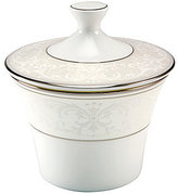 Nikko Pearl Symphony Scroll Bone China Sugar Bowl with Lid