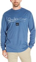 Quiksilver Waterman Men's Gut Check Ls Tee Shirt
