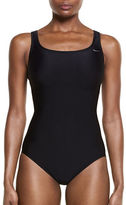 Nike One-Piece Mid Trainer Tank Swimsuit