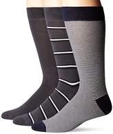 Lacoste Men's 3 Pack Striped Jersey Cotton Blend Socks, Ra7784 Sockshosiery,