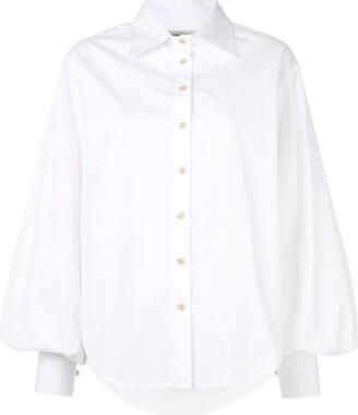 ANNA QUAN Castiglia bishop sleeve shirt