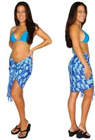 1WorldSarong 1 World Sarongs Womens Elephant Half/Mini Cover-Up Sarong in