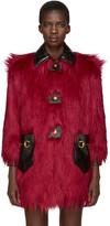 Gucci - Manteau en fourrure
