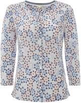 White Stuff Kristina Linen Jersey Shirt