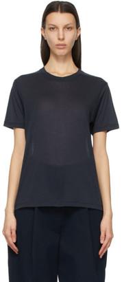 Studio Nicholson Navy Kemi T-Shirt