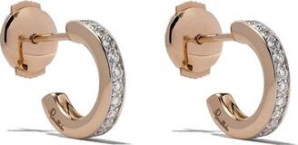 Pomellato 18kt rose gold Iconica diamond earrings