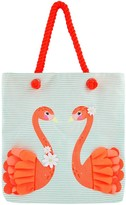 Accessorize Girls Shopper Bag - Pink