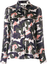 L'Autre Chose abstract print shirt