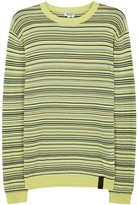 Kenzo Striped Fine-knit Cotton Blend Jumper