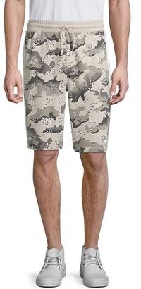 Puma Camo-Print Cotton-Blend Shorts