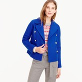 J.Crew Cropped double-breasted peacoat