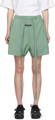 Fear Of God Green Iridescent Military Training Shorts