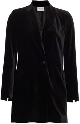 Akris Punto Velvet One-Button Blazer