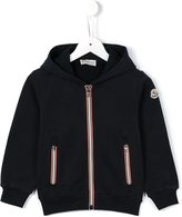 Moncler zipped hoodie - kids - Cotton - 4 yrs