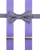 Alfani Men's Mars Speckled Pre-Tied Bow Tie and Suspender Set, Only at Macy's