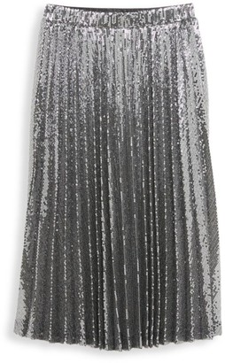 Bardot Junior Girl's Iva Sequin Pleated Skirt
