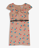 Forever 21 girls Dotted Bow Dress