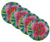 Maxwell & Williams Hanoi Hibiscus Coasters 9cm Set of 4